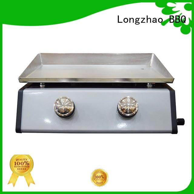 Longzhao BBQ portable gas charcoal grill propane for garden grilling