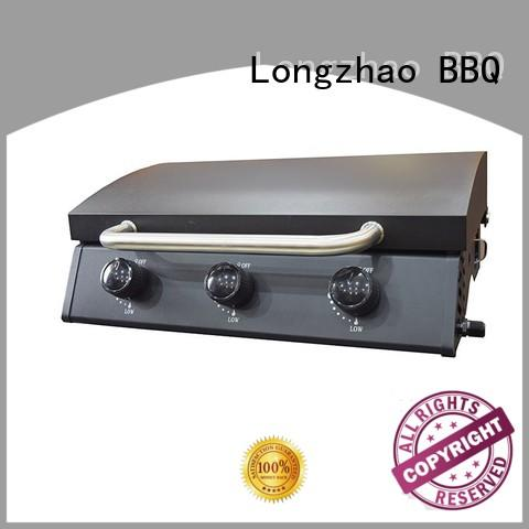 Longzhao BBQ outdoor natural gas grills easy-operation for garden grilling