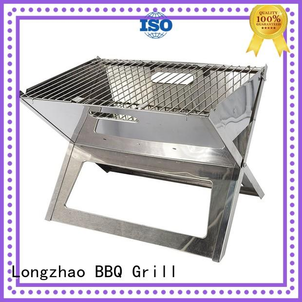 small charcoal grill steel for outdoor bbq Longzhao BBQ