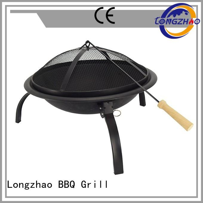 steel heavy duty bbq grill table for outdoor bbq Longzhao BBQ