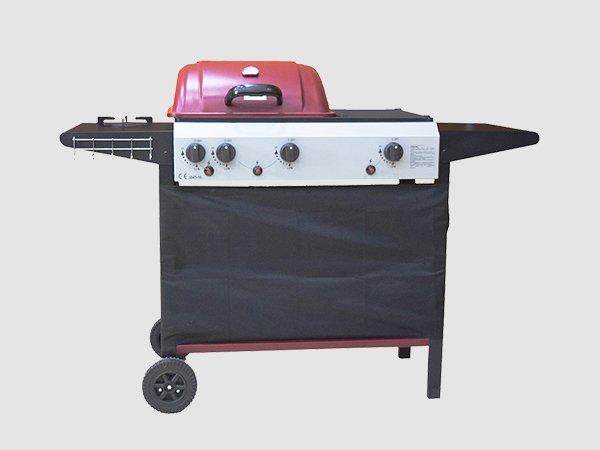 portable gas bbq grill for sale easy-operation for garden grilling-3