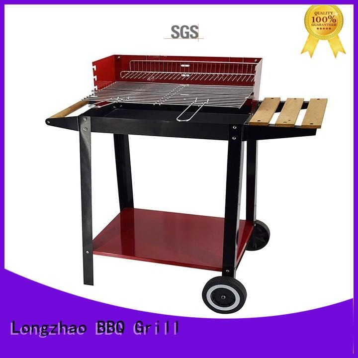 small charcoal grill smoker for outdoor cooking Longzhao BBQ
