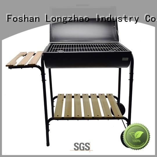 Longzhao BBQ simple portable barbecue grill smoker for outdoor cooking
