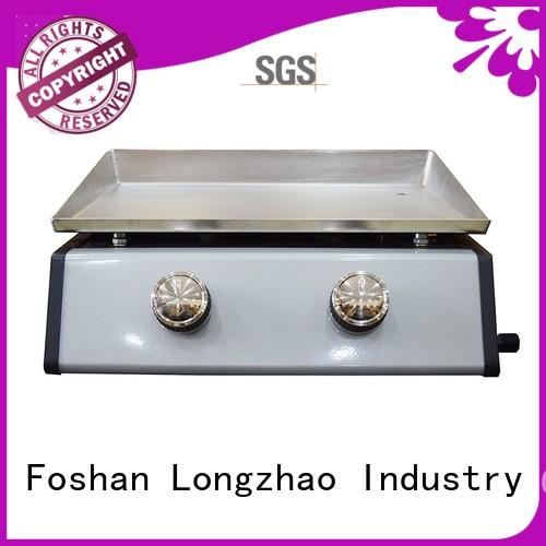 portable griddle best gas bbq plancha Longzhao BBQ Brand company