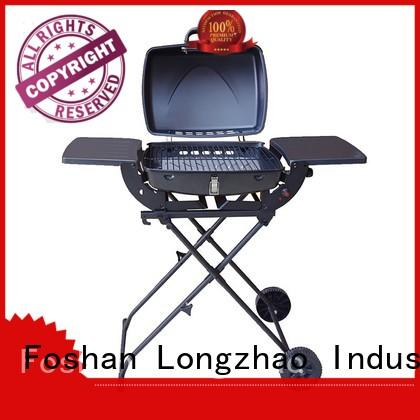 gas charcoal grill table top for garden grilling Longzhao BBQ
