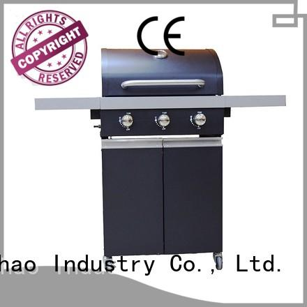 Custom tabletop professional best gas bbq Longzhao BBQ iron