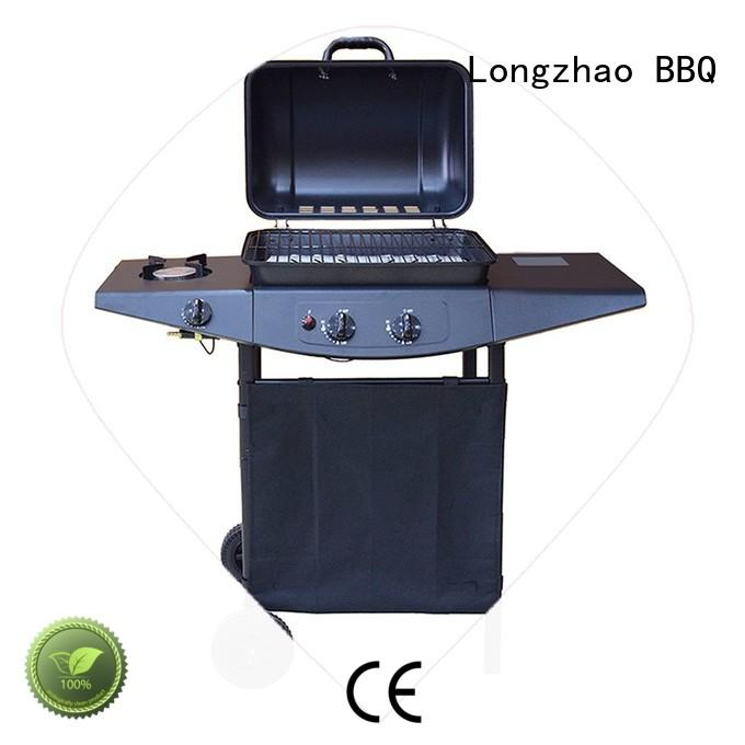 Longzhao BBQ large base burner gas grills free shipping for cooking