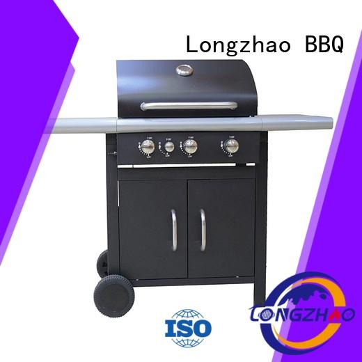 Longzhao BBQ large base propane gas grill hood for garden grilling