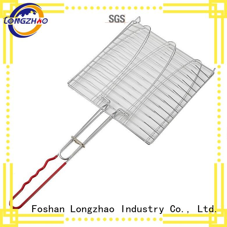 Longzhao BBQ heat resistance barbecue tool set free sample for barbecue