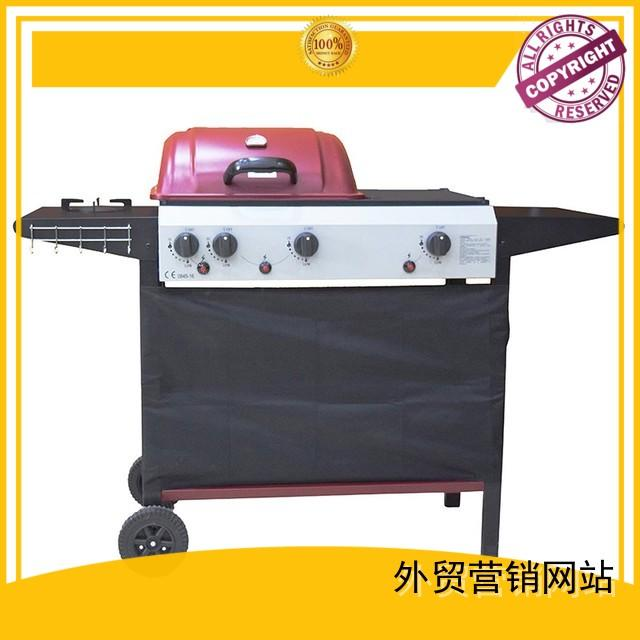 Hot best gas bbq factory direct Longzhao BBQ Brand