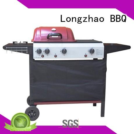 Longzhao BBQ table top stainless steel gas grill trolley for cooking