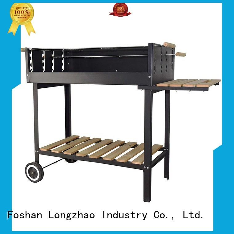 Longzhao BBQ colorful professional charcoal grill high quality for barbecue