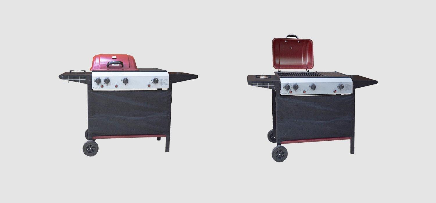 portable gas bbq grill for sale easy-operation for garden grilling-1