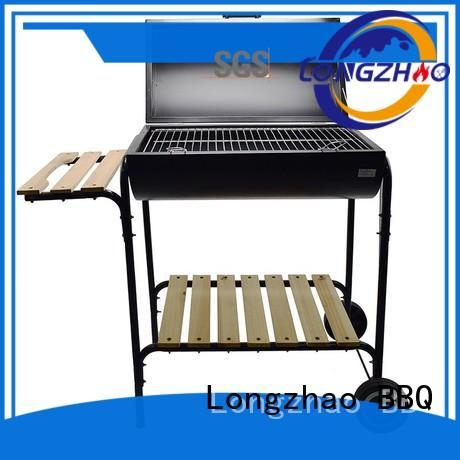 Longzhao BBQ Brand black inch liquid gas grill coloful factory