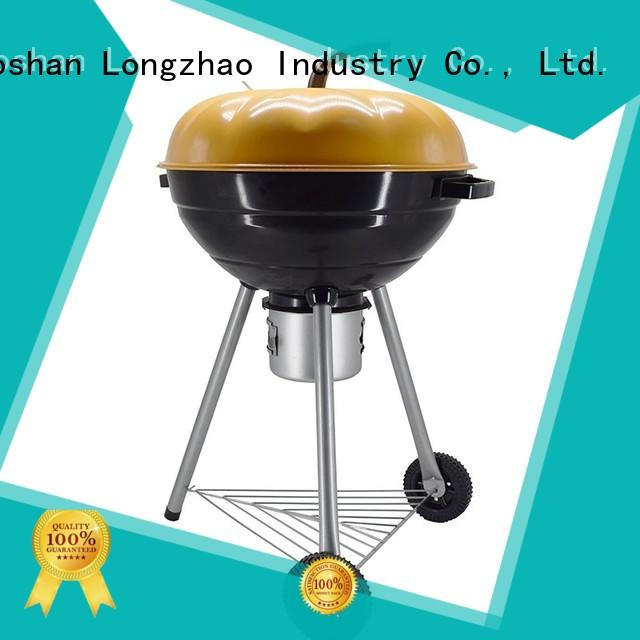 Longzhao BBQ charcoal bbq pits factory direct supply for camping