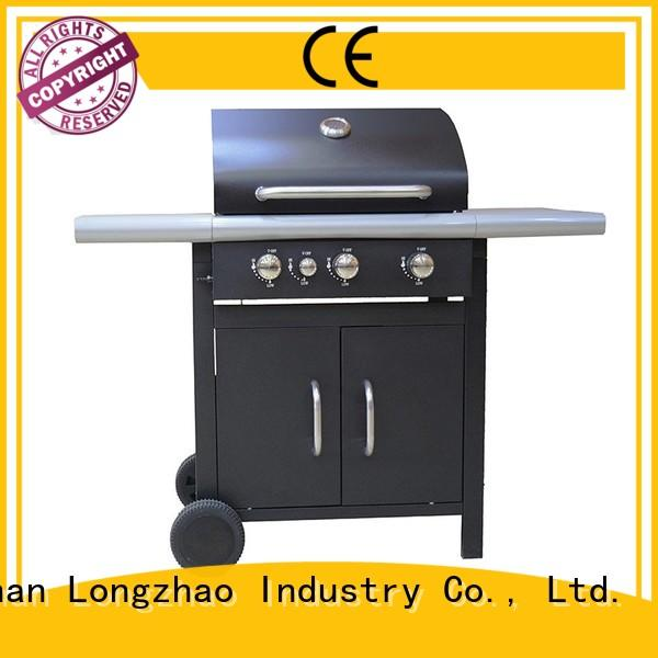 Longzhao BBQ large base gas charcoal grill for cooking