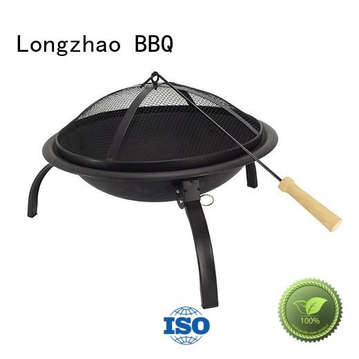 disposable bbq grill near me manufacturer direct selling round cooking Longzhao BBQ Brand best charcoal grill