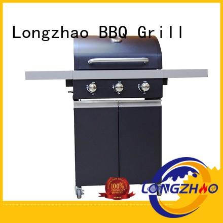 Longzhao BBQ plate outdoor half grill half griddle black for cooking