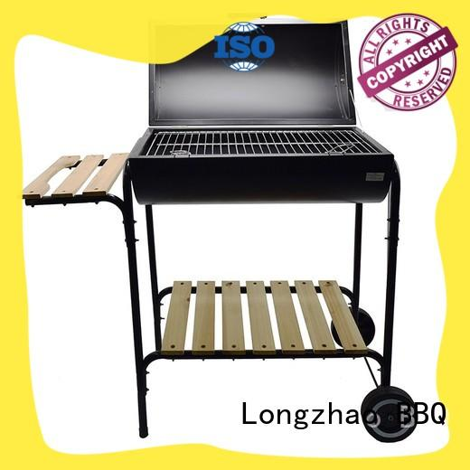 garden barbecue grill wood for outdoor bbq Longzhao BBQ