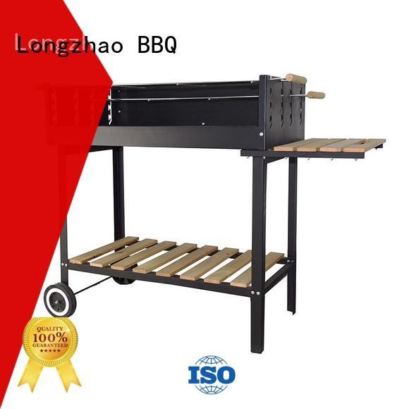 Longzhao BBQ Brand pillar grill shape disposable bbq grill near me