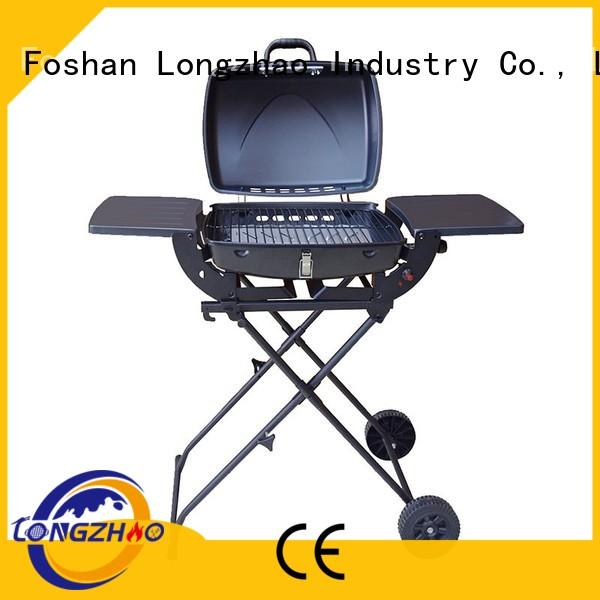 folding tables Longzhao BBQ Brand 2 burner gas grill