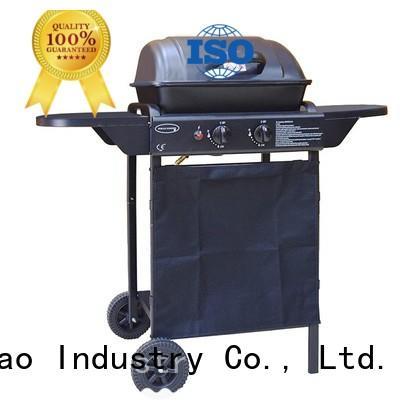 Longzhao BBQ folding portable butane gas bbq grill side for garden grilling