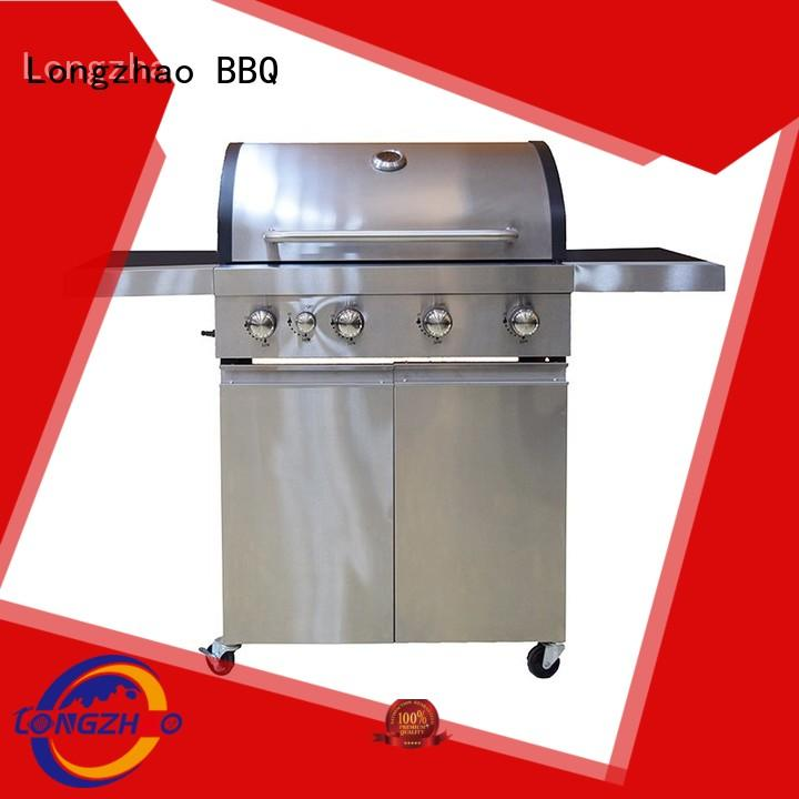 Custom cooking butane best gas bbq Longzhao BBQ low price
