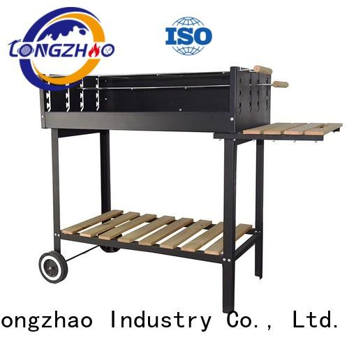 Longzhao BBQ coloful small charcoal grill side for outdoor bbq