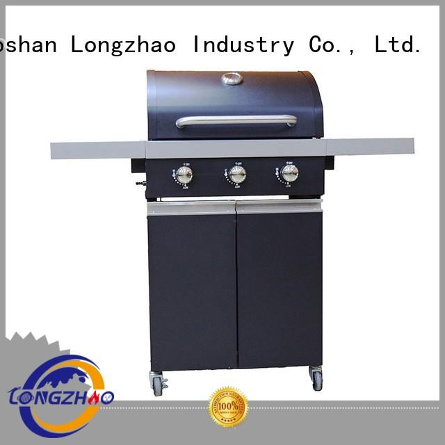 Longzhao BBQ gas grill side burner easy-operation for garden grilling
