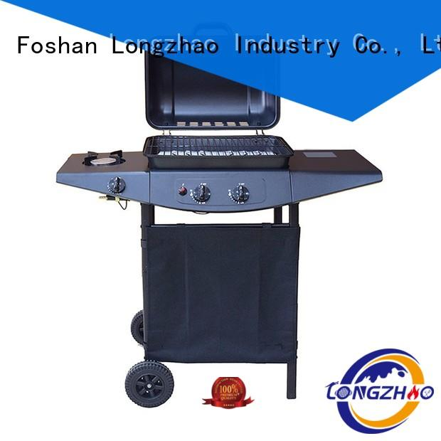 Longzhao BBQ portable best gas bbq table top for garden grilling