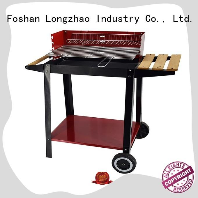 Longzhao BBQ rectangular small charcoal grill for barbecue