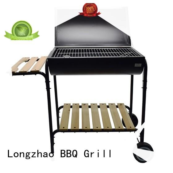 portable barbecue grill trolley for outdoor cooking Longzhao BBQ