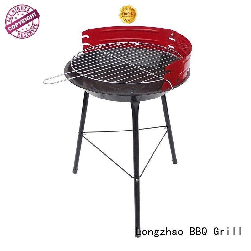 Longzhao BBQ colorful outdoor charcoal grill high quality for barbecue
