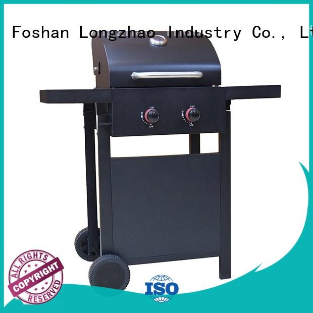 Longzhao BBQ large storage burner gas grills fast delivery for cooking