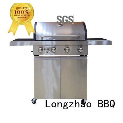 Longzhao BBQ gas grill side burner fast delivery for garden grilling