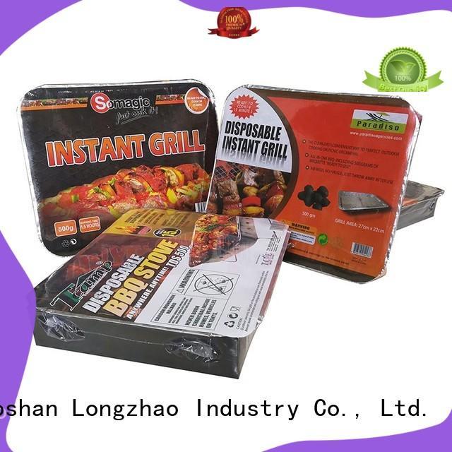 Longzhao BBQ heavy duty charcoal smoker grills bulk supply for outdoor bbq