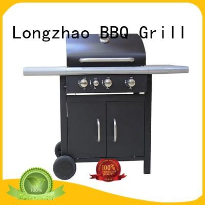 Longzhao BBQ folding 3 burner gas bbq grill liquid for cooking