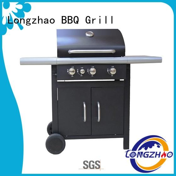 Longzhao BBQ portable folding gas grill cast for cooking