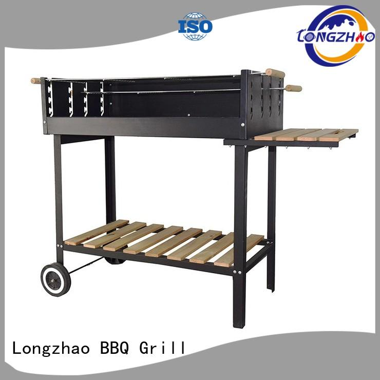 party trolley bbq grill steel for outdoor cooking Longzhao BBQ