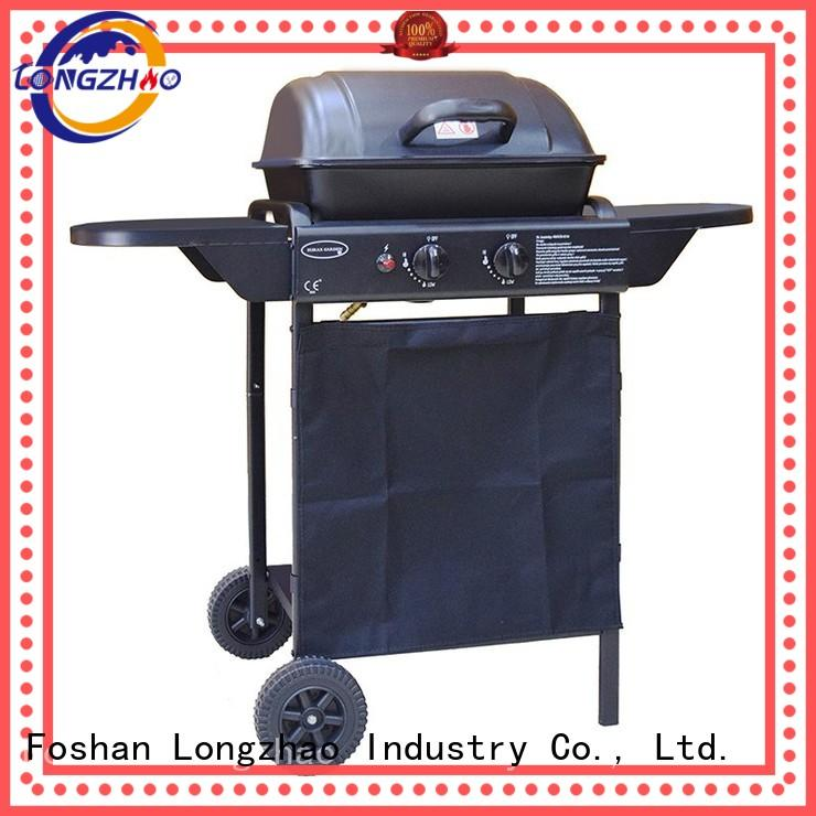 2 burner gas grill manufacturer direct selling tabletop Bulk Buy tables Longzhao BBQ
