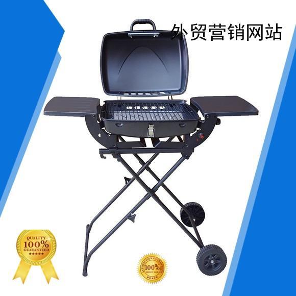 steel cast silver best gas bbq Longzhao BBQ