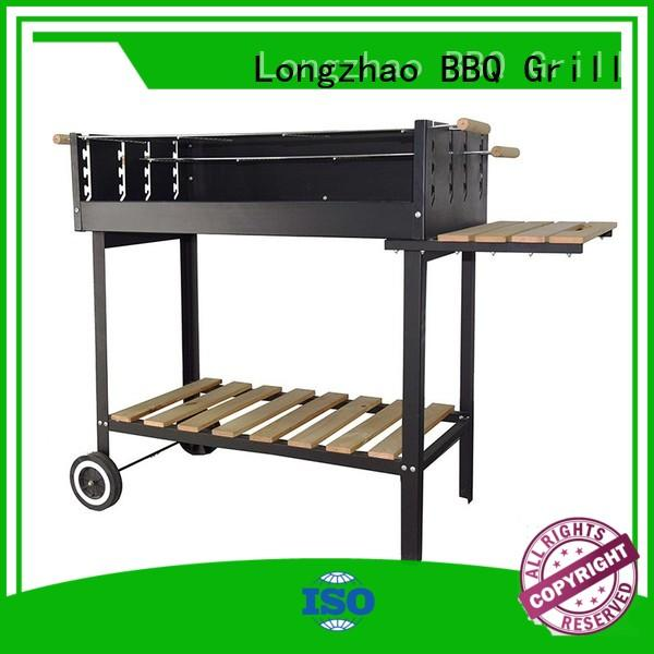 Longzhao BBQ light-weight cheap charcoal grill factory direct supply for outdoor cooking
