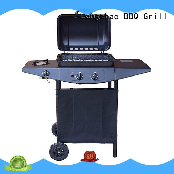 Longzhao BBQ large base best gas grill for the money plate for garden grilling