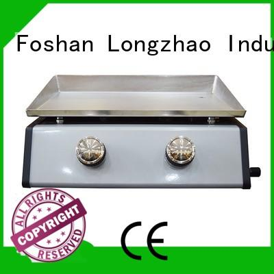 Stainless Steel Cooking Plate Table Top Gas Plancha BBQ Grill