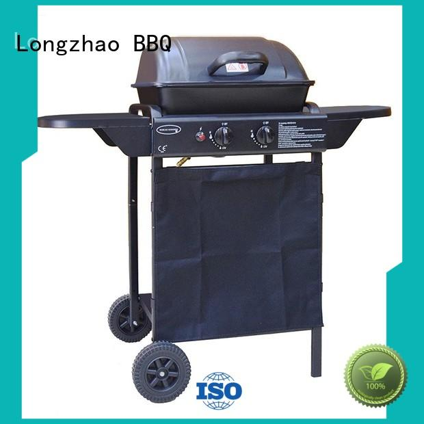 easy moving portable foldable grill trolley for cooking
