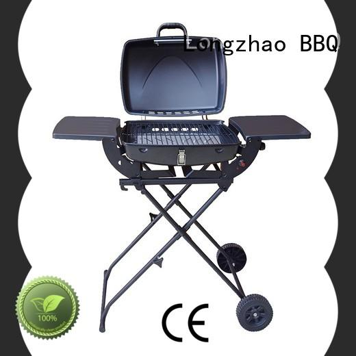 Longzhao BBQ large base gas barbecue grills free shipping for cooking