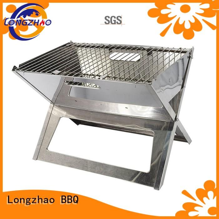 moving camping ball liquid gas grill Longzhao BBQ Brand company