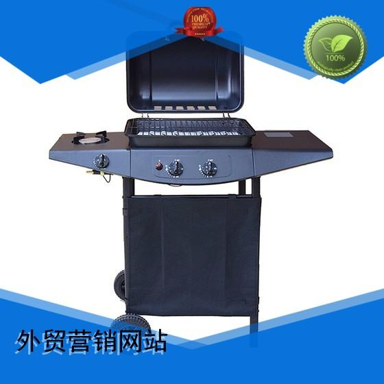 professional barbecue 2 burner gas grill bbq low price Longzhao BBQ Brand