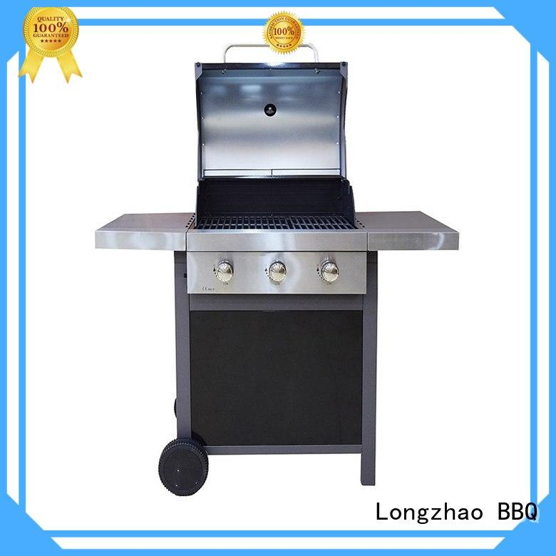 large storage cast iron charcoal grill fast delivery for garden grilling