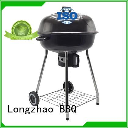 Hot stand disposable bbq grill near me wheels Longzhao BBQ Brand
